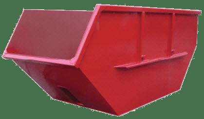 Absetzcontainer nach DIN 30720 – offen / asymmetrish