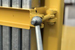 Abrollcontainer Ladeboden mit Steckrungen-foto1