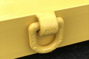 Abrollcontainer Ladeboden mit Steckrungen-foto2