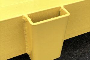 Abrollcontainer Ladeboden mit Steckrungen-foto3