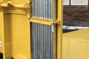 Abrollcontainer Ladeboden mit Steckrungen-foto4