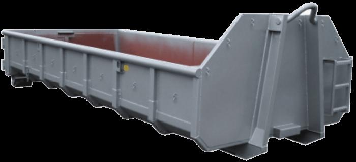 Abrollcontainer-Bauschuttmulde
