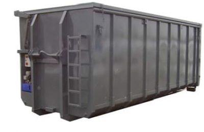 Abrollcontainer-Hydraulikdach