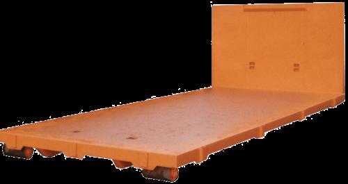 Abrollcontainer-Plattform-Ladeboden Basis