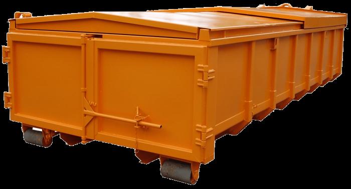 Abrollcontainer-Schiebedach