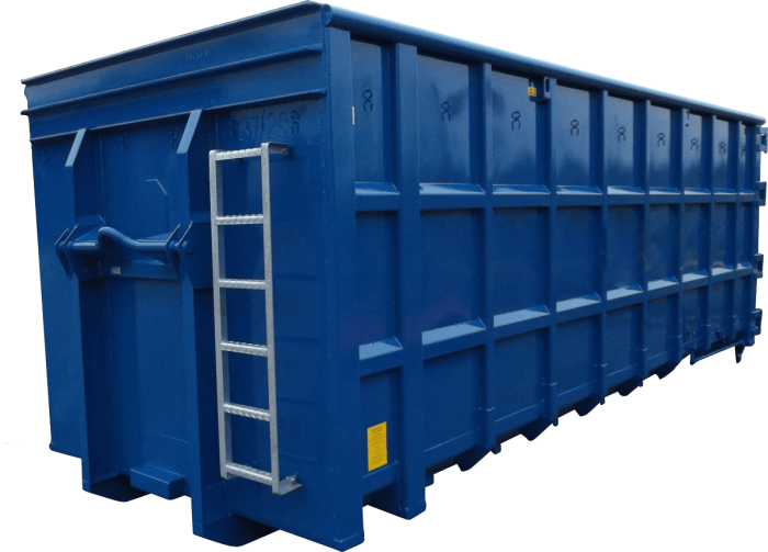 Abrollcontainer Schwere Ausführung