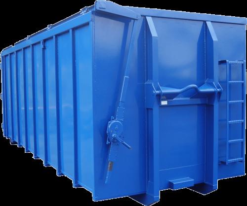 Abrollcontainer-Windendach mit 5to Stockwinde