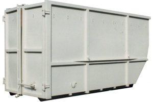 Absetzcontainer mit Flügeltüren – offen