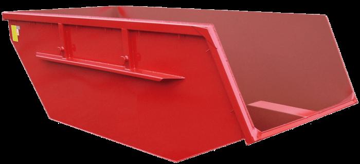 Absetzcontainer-Tiefe Schüttkante