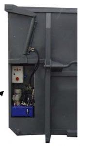 Elektro-Hydraulikdach