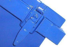 symmetrisch mit Stahldeckeln nach DIN 30720
