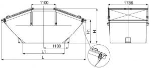 symmetrisch mit Stahldeckeln nach DIN 30720 table1