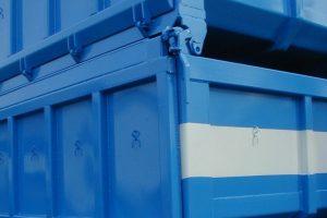 Übereinander Stapelbare Abrollcontainer