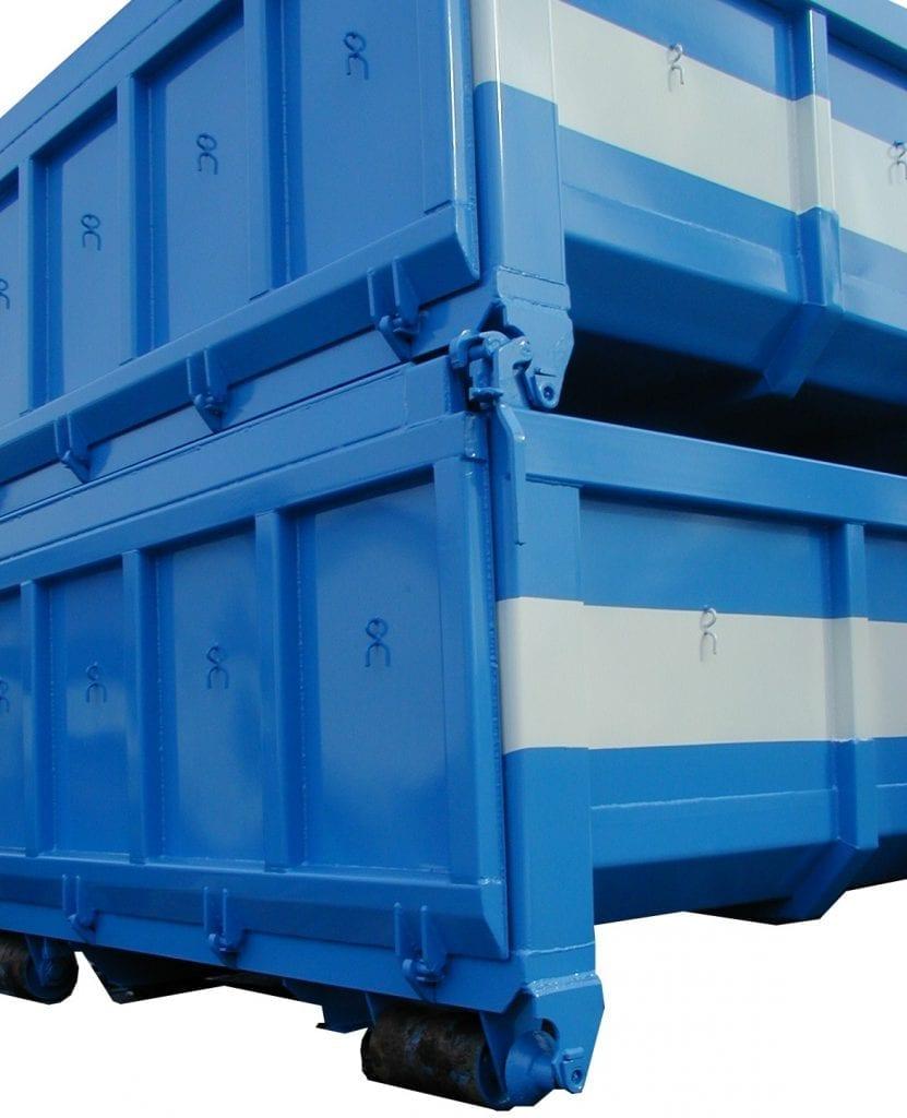 Übereinander Stapelbare Abrollcontainer-foto2