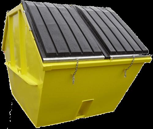 Mulde-Kunststoffdeckel