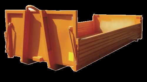 Abrollcontainer-Stahl-Bordwände