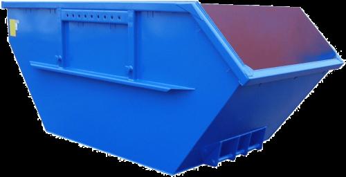Absetzcontainer nach DIN 30720-1 (Neue Norm) – offen / asymmetrish