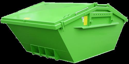 Absetzcontainer-symmetrisch mit Deckeln nach DIN 30720-1 (Neue Norm)