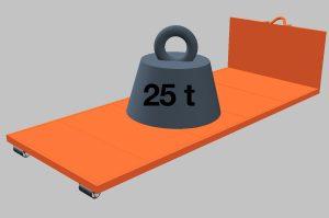 Tragkraft bis 25 Tonnen <br /> (Preis auf Anfrage)