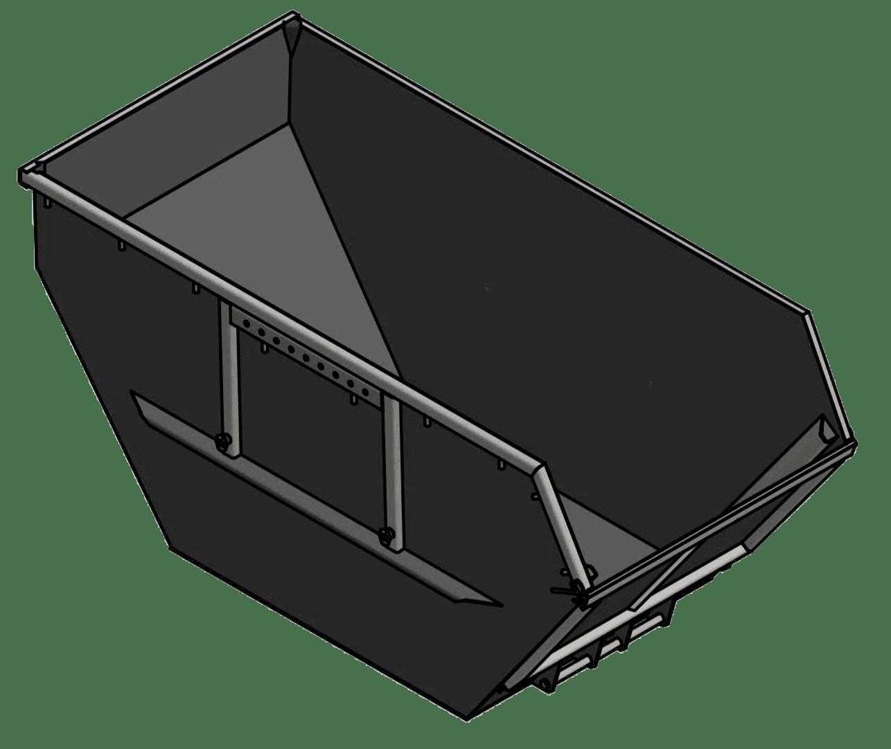 absetzcontainer nach din 30720 1 3 fach kipplager neue. Black Bedroom Furniture Sets. Home Design Ideas