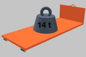 Tragkraft bis 14 Tonnen <br /> (Preis auf Anfrage)