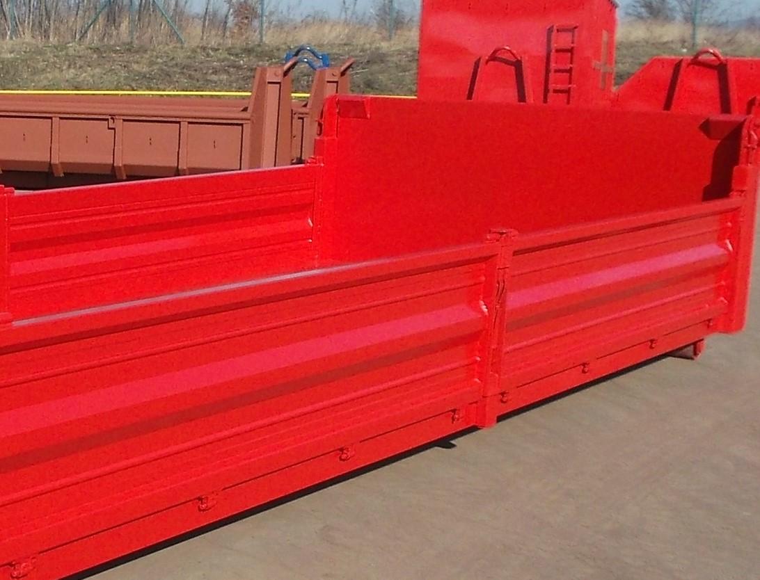 Stahlseitenwände, Seitenhöhe 250 – 1200 mm, mehrteilige Seitenwände